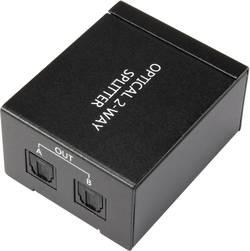Répartiteur Toslink SpeaKa Professional 1230712 2 ports noir