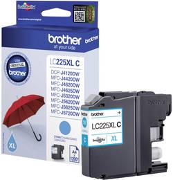 Brother Encre LC-225XLC d'origine cyan LC225XLC