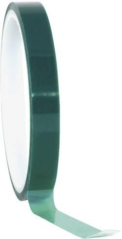 Ruban adhésif TOOLCRAFT 291B09L66C vert (L x l) 66 m x 9 mm silicone 1 rouleau(x)