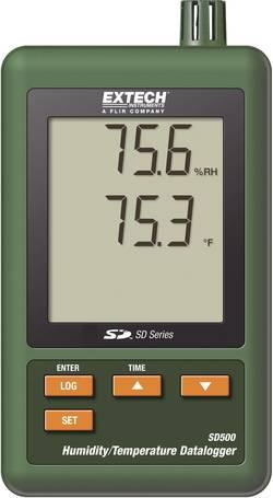 Hygro-thermomètre d'enregistrement de données Extech SD 500