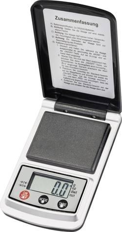 Balance de poche VOLTCRAFT PS-200B Plage de pesée (max.) 200 g Résolution 0.1 g à pile(s) 1 pc(s)