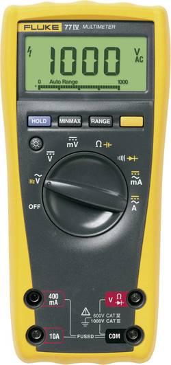 Multimètre numérique Fluke série 77IV/EUR Etalonné selon DAkkS Fluke 77-4/EUR 3947835