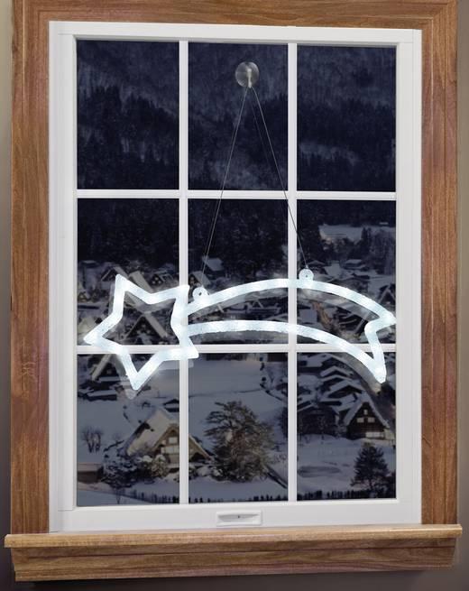 Decoration De Noel Led Etoile Filante Polarlite Lde 02 009 Led Blanc
