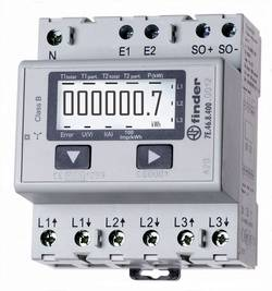 Compteur d'énergie triphasé numérique Finder 7E.46.8.400.0002 65 A conformité MID: non
