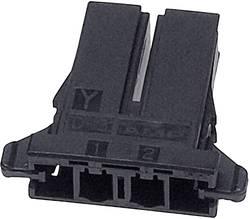 Boîtier pour contacts femelles série DYNAMIC 3000 Series femelle, droit 2 pôles TE Connectivity 2-178128-2 1 pc(s)