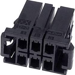 Boîtier pour contacts femelles série DYNAMIC 3000 Series TE Connectivity 2-917659-5 femelle, droit Nbr total de pôles 10