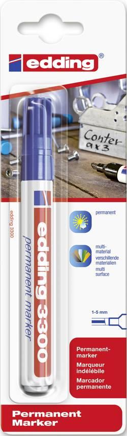 Marqueur permanent Edding 4-3300003 bleu cunéiforme 1 - 5 mm 1 pc(s)