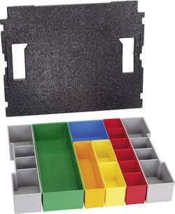Insert de coffret de rangement séparations variables Bosch Professional 1600A001RY Nombre de compartiments: 13 1 pc(s)