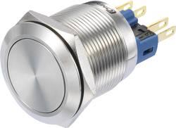 Bouton-poussoir à accrochage TRU COMPONENTS GQ22-11Z/S 1272989 250 V/AC 3 A 1 x On/On IP65 à accrochage 1 pc(s)