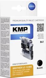 KMP Encre remplace Brother LC-123 compatible noir B41 1525,0001