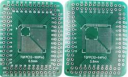Platine d'expérimentation Conrad Components 1274823 Epoxy (L x l) 46 mm x 38 mm 35 µm Pas 2.54 mm 1 pc(s)