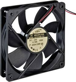 Ventilateur axial ADDA 771252300 12 V/DC 179.3 m³/h (L x l x h) 120 x 120 x 38 mm 1 pc(s)