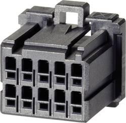 Boîtier pour contacts femelles série DYNAMIC 1000 Series TE Connectivity 1-1827862-0 femelle, droit Nbr total de pôles 2