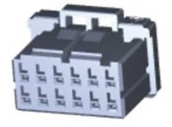 Boîtier pour contacts femelles série DYNAMIC 1000 Series femelle, droit 12 pôles TE Connectivity 2-1827864-6 1 pc(s)