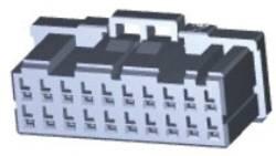 Boîtier pour contacts femelles série DYNAMIC 1000 Series femelle, droit 20 pôles TE Connectivity 1-1827864-0 1 pc(s)