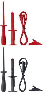 Set de cordons de mesure de sécurité Benning 044126 rouge, noir 1 m 1 set