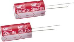 Condensateur électrolytique sortie radiale 220 µF 35 V Würth Elektronik 860240575008 (Ø x h) 10 mm x 20 mm 20 % Pas: 5