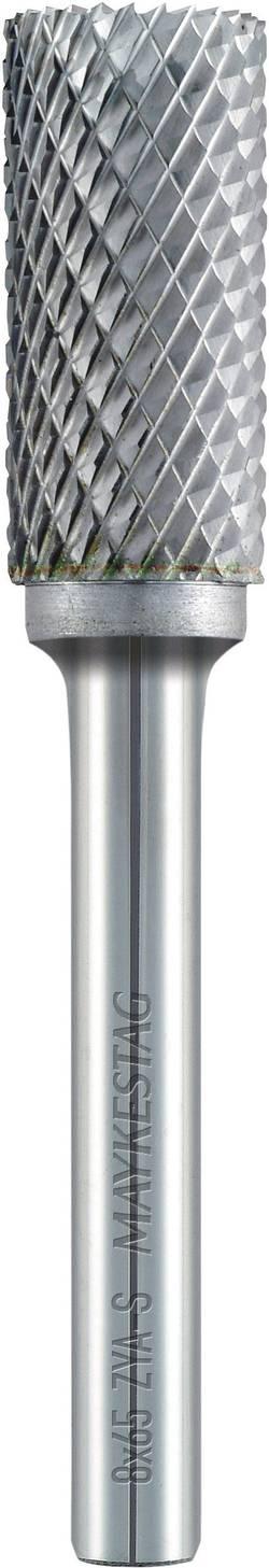 Fraise cylindrique -Forme A- de 6 mm (ZYA-S) avec denture frontale Alpen 778606106100 Carbure Diam. tige 6 mm