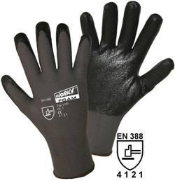 Gants de protection worky 1157 100% en nylon avec revêtement nitrile EN 388 Taille 9 (L)