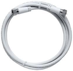 Câble de raccordement Axing MAK 500-80 [1x F mâle - 1x F mâle] 5 m blanc