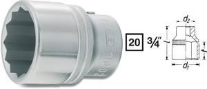"""Hazet Clé à douille 1//2/"""" 10 mm 12 pans long"""