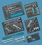 Assortiment d'outils pour véhicules utilitaires