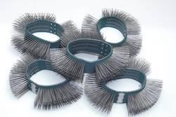 Bandes brosses 23 mm de large, fines, pointes droites Hazet 9033-6-06/5