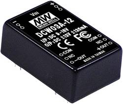 Convertisseur DC/DC Mean Well DCW03B-12 125 mA