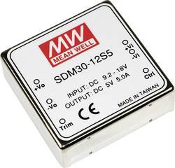 Convertisseur DC/DC Mean Well SDM30-12S3 5 A
