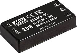 Convertisseur DC/DC Mean Well SKA20A-15 1333 mA