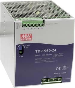Alimentation rail DIN Mean Well TDR-960-48 20 A 960 W 1 x