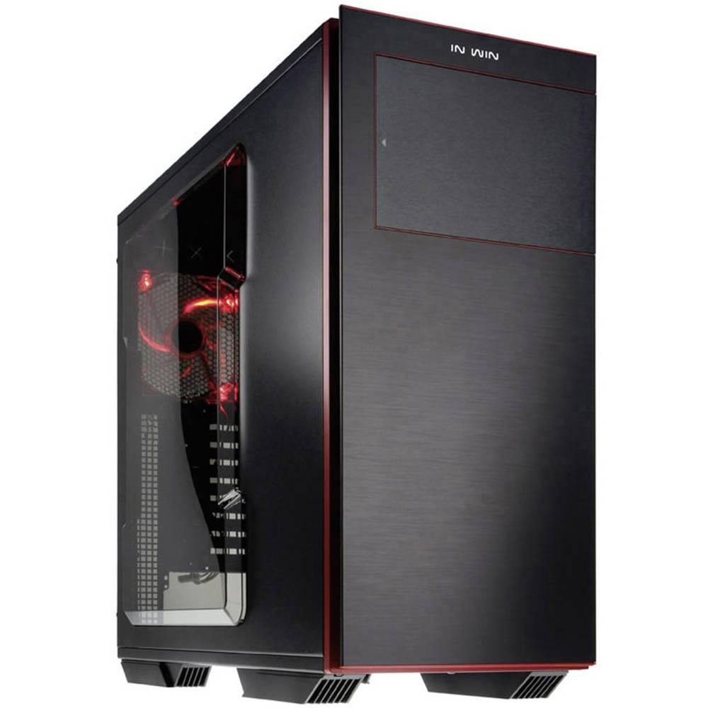 tour bo tier gaming in win 707 noir rouge sur le site internet conrad 1295567. Black Bedroom Furniture Sets. Home Design Ideas