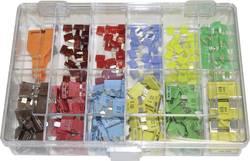Fusible plat standard, Mini fusible plat, Maxi fusible plat 7.5 A, 10 A, 15 A, 20 A, 30 A Kunzer FK SET 256 marron, ro