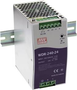 Alimentation rail DIN Mean Well WDR-240-48 5 A 240 W 1 x