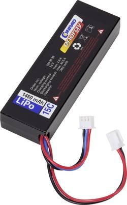 Batterie d'accumulateurs (LiPo) 7.4 V 1450 mAh Conrad energy LP702689 15 C hardcase fiche mâle micro voiture