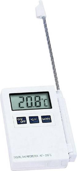 Thermomètre à sonde à piquer TFA Kat.Nr. 30.1015 Kat.Nr. 30.1015 -40 à 200 °C Type de sonde NTC conforme HACCP Calibré c
