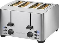 Grille-pain Profi Cook PC-TA 1073 acier inoxydable