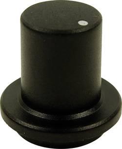 Tête de bouton rotatif Cliff FCR7172 noir (Ø x h) 23 mm x 17 mm 1 pc(s)