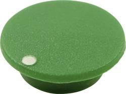 Couvercle avec point Cliff CL1755 vert Adapté pour Boutons K21 1 pc(s)