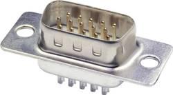 SUB-D mâle 15 pôles econ connect ST15HD 180 ° fût à souder 1 pc(s)