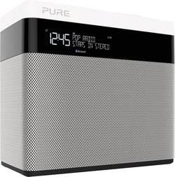 Radio de bureau DAB+ Pure Pop Maxi Bluetooth Bluetooth, DAB+, FM noir, blanc