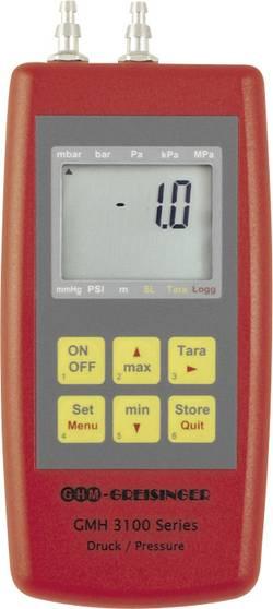 Appareil de mesure de pression portatif avec enregistreur de données GMH 3181-002 Etalonné selon DAkkS Greisinger GMH318