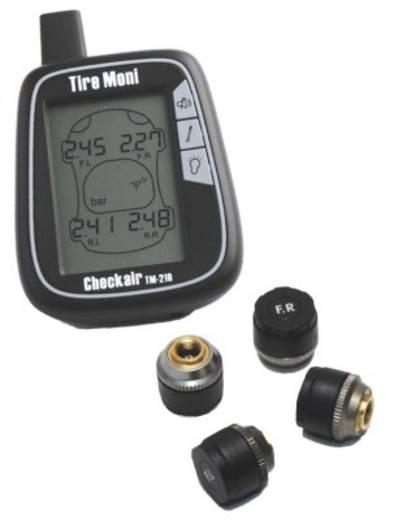 syst me de contr le de pression des pneus tiremoni tm 210 avec 4 capteurs. Black Bedroom Furniture Sets. Home Design Ideas