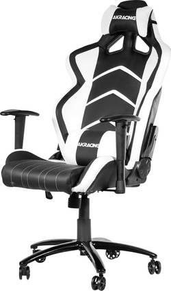 Fauteuil de gaming AKRACING Player Gaming Chair Schwarz/Weiß noir, blanc