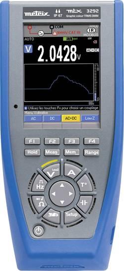 Multimètre Metrix MTX3292-BT Etalonné selon: d'usine (sans certificat)