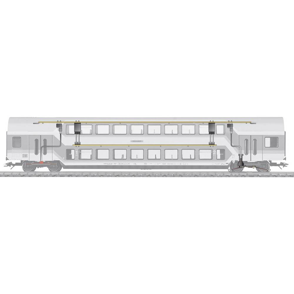 eclairage int rieur de wagon m rklin 73141 avec leds. Black Bedroom Furniture Sets. Home Design Ideas