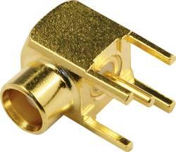 Connecteur MCX femelle, coudé pin à souder econ connect MCX6F 50 Ω 1 pc(s)