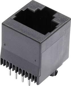 Embase modulaire femelle RJ45 econ connect MJTN88A embase femelle, verticale Pôle: 8 noir 1 pc(s)