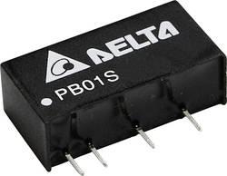 Convertisseur CC/CC pour circuits imprimés Delta Electronics PB01D2415A Nbr. de sorties: 2 x 15 V/DC, -15 V/DC 34 mA 1