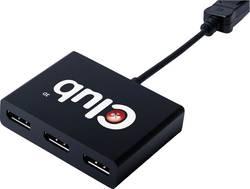 3 portsMST- Répartiteur DisplayPort N/A club3D CSV-5300A noir